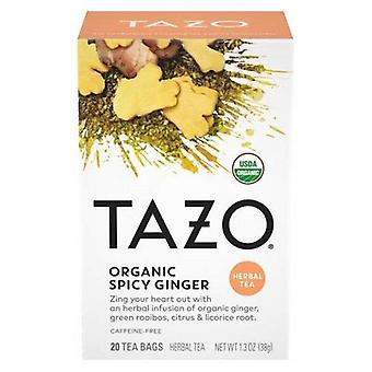 Tazo Organic Spicy Ginger Herbal Tea