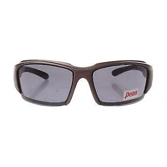 sportzonnebril unisex zilver/grijs met grijze lens