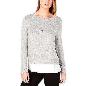 BCX | Réteges kötött crewneck pulóver