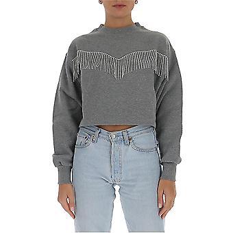 Chiara Ferragni Cff128gr Femmes's Sweatshirt en coton gris