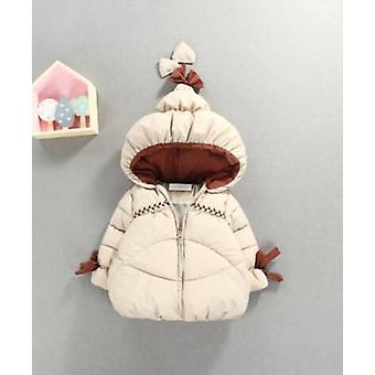 Winter Warm Baby, Cute Hat, Cotton-padded Jacket
