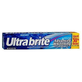 Colgate Ultra Brite Advanced Whitening Fluoride Toothpaste, 6 oz