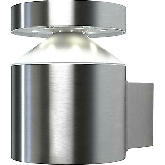 Osram Outdoor LED Wall Light - Cylinder Stainless Steel