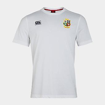 Canterbury brittiska och irländska Lions Jersey T Shirt Mens