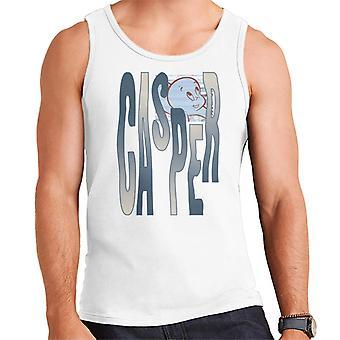 Casper The Friendly Ghost Spooky Waves Men's Vest