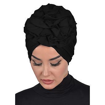 Kerstin - Khaki bavlnený turban - Ayse Turban