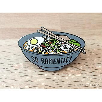 Ramen Hard Enamel Pin