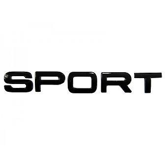 Gloss Black Land Rover Sport Lettering Rear Boot Badge Emblem For Range Rover Evoque Discovery FreeLander