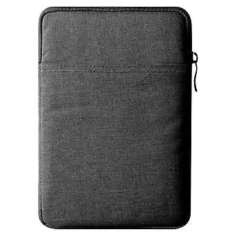 For iPad Pro 11-tommers (2018) støtsikker og dråpebestandig oppbevaringspose for nettbrett (mørk grå)