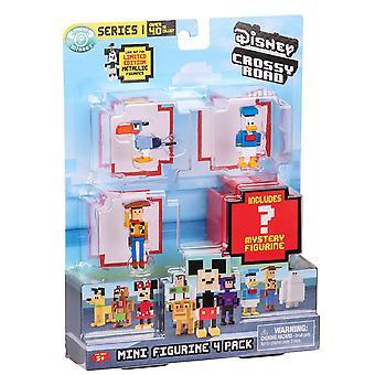 Disney Crossy Roads Mini Figurine 4 Pack