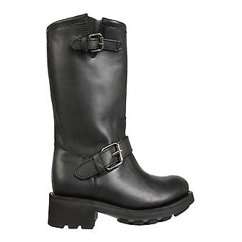 Ash Toxic02 Women's Black Leather Boots