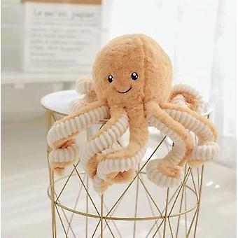 Cute Little Octopus Plush Doll, Smiling Octopus Doll, Children's Doll, Rag Doll