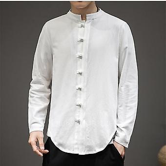 Orientalske mænd ny linned skjorte