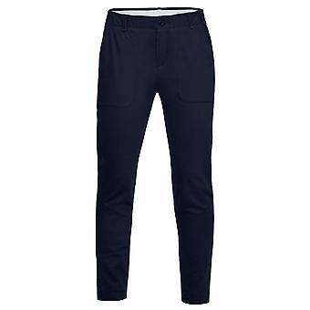 Under Armour Womens Vanish Pants Chino Trousers Navy 1326884 408