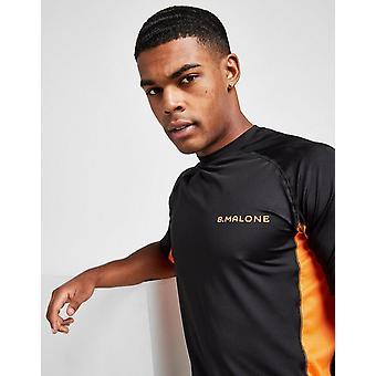New B Malone Men's Tech Short Sleeve T-Shirt Black