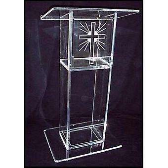 Organic Glass/acrylic Church Pulpit
