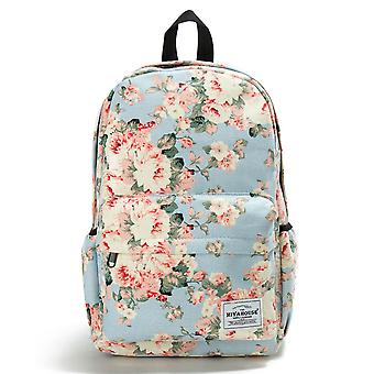 Miyahouse Preppy Style Soft Fabric Backpack