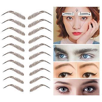 Tattoo Eyebrow Sticker Bionic Waterproof Eyebrow Semi-permanent Web Celebrity