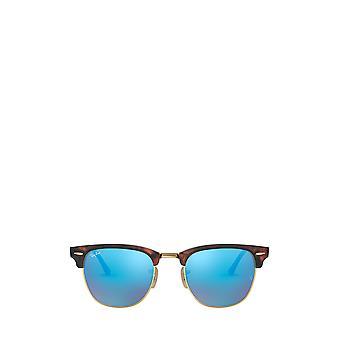 Ray-Ban RB3016 sand havana on arista unisex sunglasses