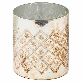 The Noel Collection Burnished Candle Holder