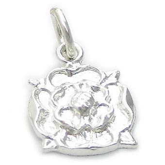 Tudor Rose Sterling Silber Charm .925 X 1 England York Union Charms - 4610
