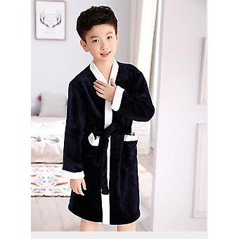 Soft Flannel Kylpytakit - Yöpuvut Vaatteet Pyjama, Sleepwear