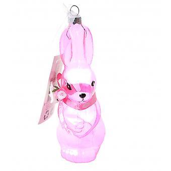 Decorative Glass Pendant Easter Bunny Bt395213