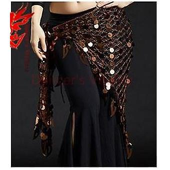 Women Big Sequins Belly Dance Clothes