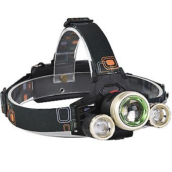 XANES 740 1200 Lumens T6+XPE LED Bicycle Headlight Mechanical Zoom Outdoor Sports HeadLamp 4 Modes