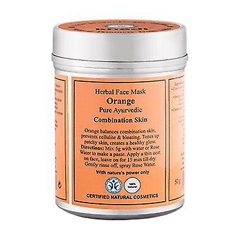 Orange Mask 50 g of powder (Orange)