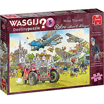 Jumbo Wasgij 5 Retro Time Travel - 1000 Piece Jigsaw