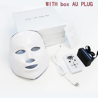 7 kleuren led gezichtsmasker foton therapie gezichtsmassager vrouwen huidverzorging tools rimpel verwijdering anti veroudering reiniging schoonheid machine
