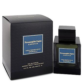 Mediterranean Neroli Eau De Parfum Spray por Ermenegildo Zegna 3.4 oz Eau De Parfum Spray