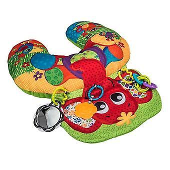 Playgro tummy time lay  play elephant hugs activity pillow