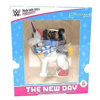 Wwe the new day  unicorn vinyl figure slam crate exclusive  booty-ful moments collection