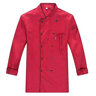 Spring/summer Catering Uniform Long Sleeve Chef Jacket/women