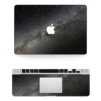 Black Texture Laptop Body Decal Protective Skin Vinyl Sticker