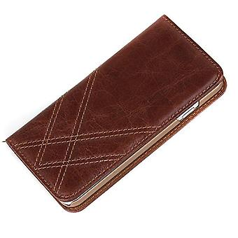 Genuine Leather Iphone 6 6+ Wallet Case