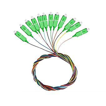 Sc Apc/upc Pigtail-sm(9/125) Cable de parche óptico de fibra