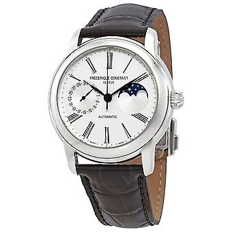 Frederique Constant Classic Moonphase Automatic Silver Dial Men's Watch FC-712MS4H6
