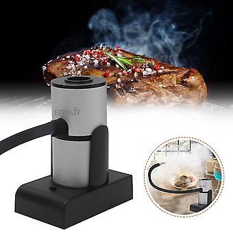 Smoke Infuser Essen Kalten Rauch Generator Tragbare molekulare Küche Rauchen Gun Fleisch brennen Smokehouse Kochen für BBQ Grill