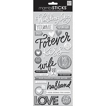 Me And My Big Ideas - MAMBI Sticks - Epoxy Stickers - Wedding Day