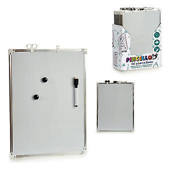 Whiteboard magnetisk metalplast (30 x 40 cm)
