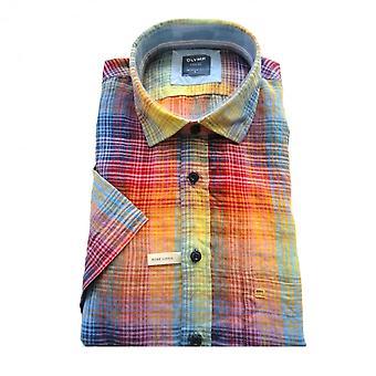 OLYMP Olymp Multicoloured Shirt 4122 72