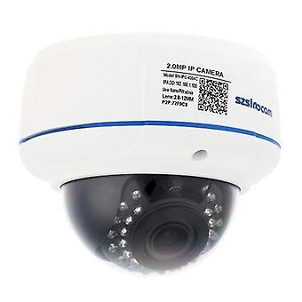 szsinocam H.264 HD 1080P 2.8-12mm 4X Digital Zoom IP Camera with 30pcs IR LEDs CCTV Security