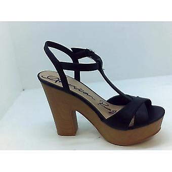 Sandalias de tacón americano rag femenino 80plr