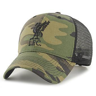 47 Brand Trucker Snapback Cap - BRANSON FC Liverpool hout