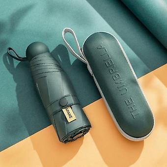 New Creative Portable Mini Capsule Umbrella(Green)