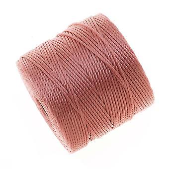 سوبر لون (S- لون) الحبل -- حجم #18 النايلون الملتوية -- الوردي روز / 77 ياردة بكرة