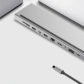 Adapter Usb Laptop Docking Station Type-c To Usb-c